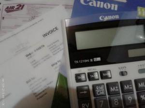 Canon TX-1210Hi III Calculator